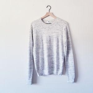 Uniqlo Heathered Crewneck Sweater